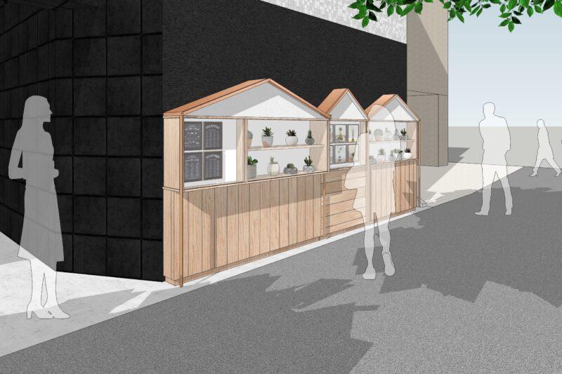 屋外家具に 高機能木材アコヤを使います